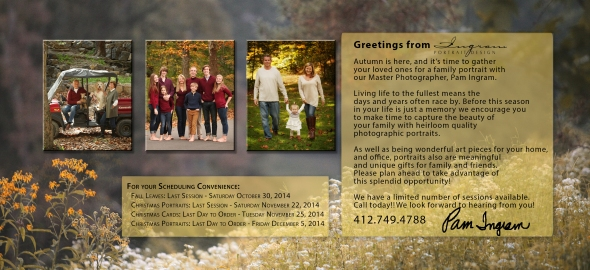 Family Card 2014 Insert A